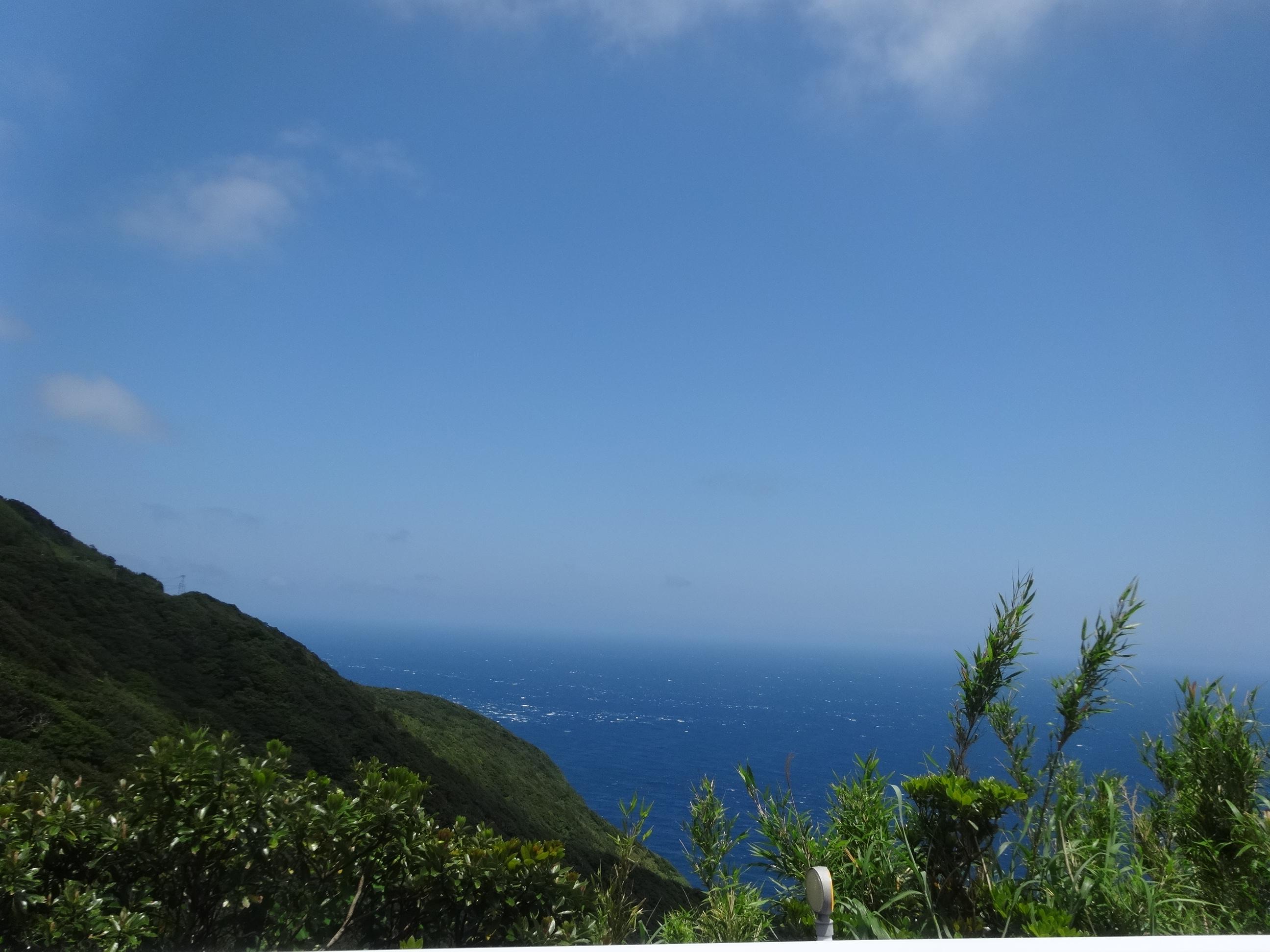 青ヶ島 海