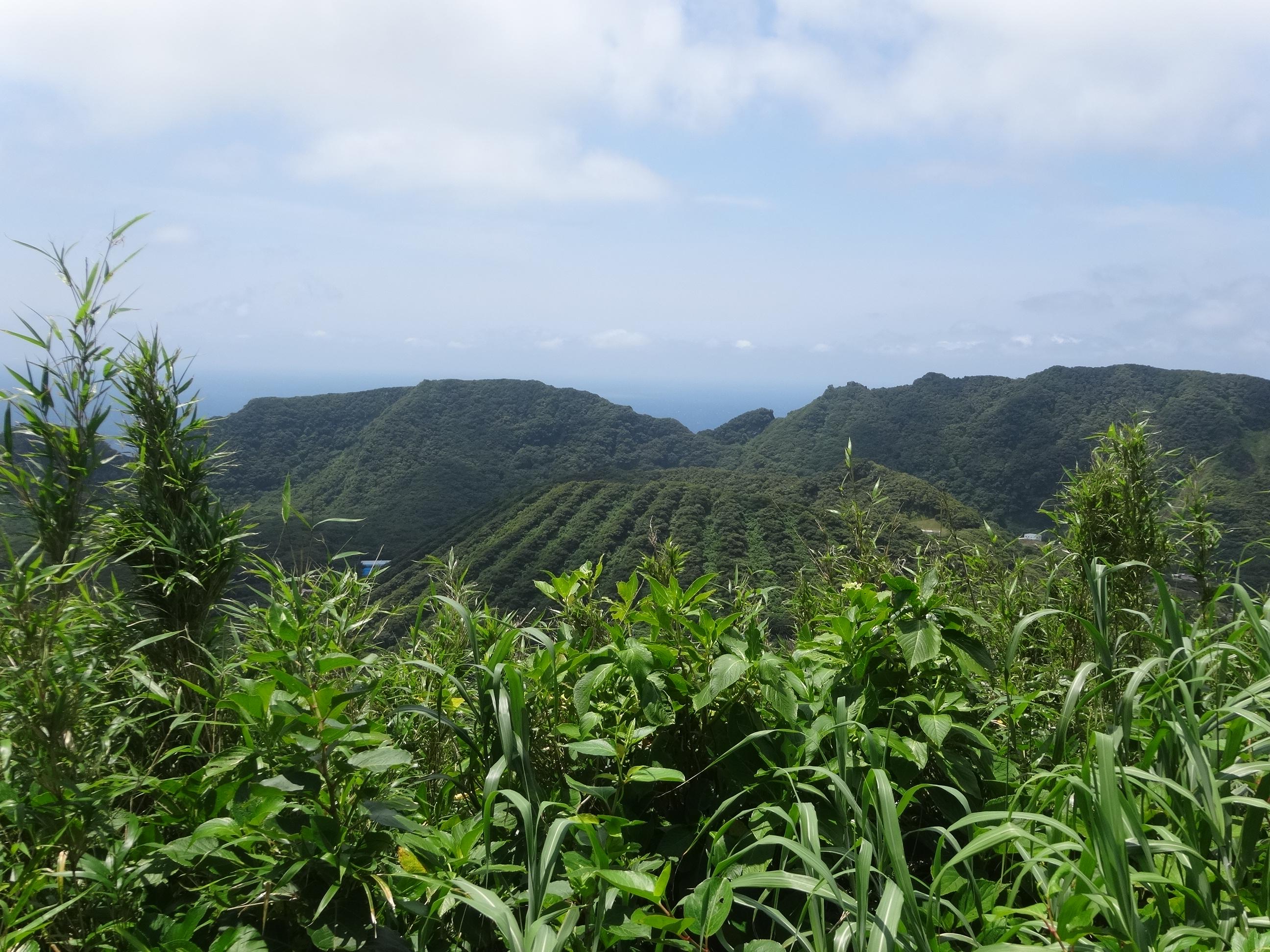 青ヶ島 カルデラ